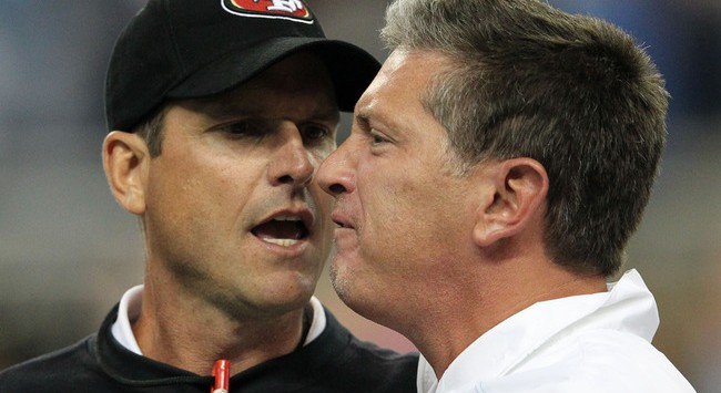 Jim Schwartz Jim Harbaugh