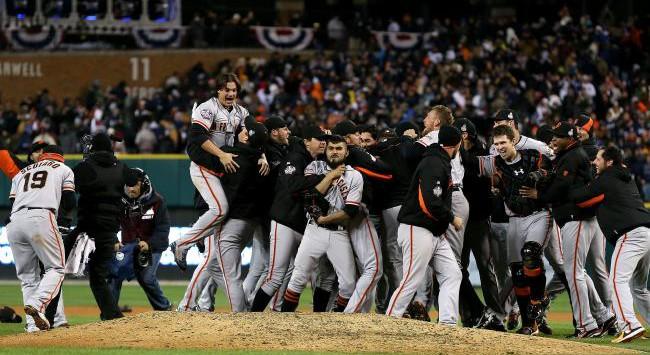 San Francisco Giants Series Mundiales 2012