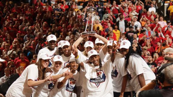 Indiana Fever campeón WNBA