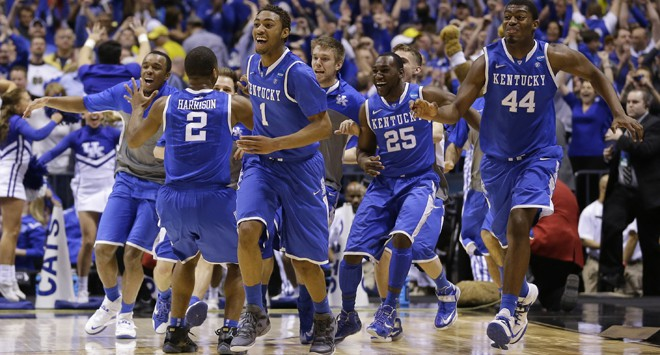Kentucky March Madness 2014