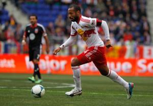 Thierry Henry, Red Bulls, en un partido ante D.C. United