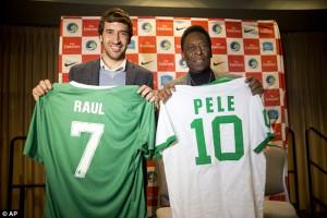 Raúl y Pelé