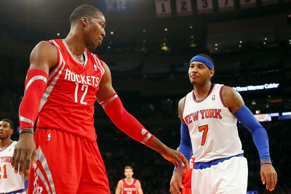 Carmelo Anthony y Dwight Howard