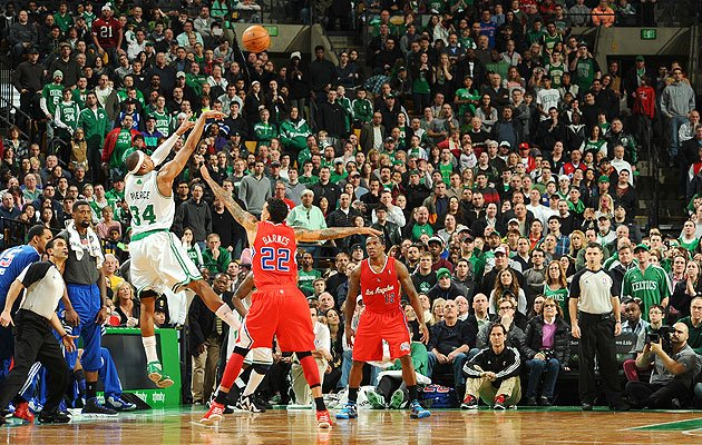 Paul Pierce con los Celtics