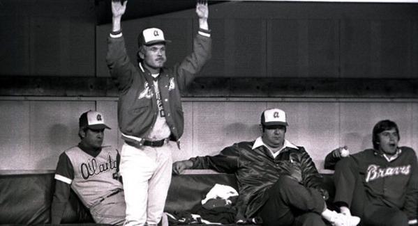 Ted Turner en el partido