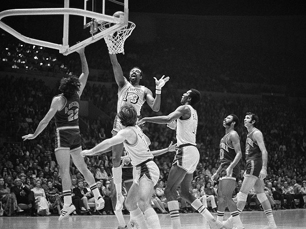 Wilt Chamberlain contra los Knicks