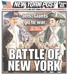 Portada del New York Post, 2011