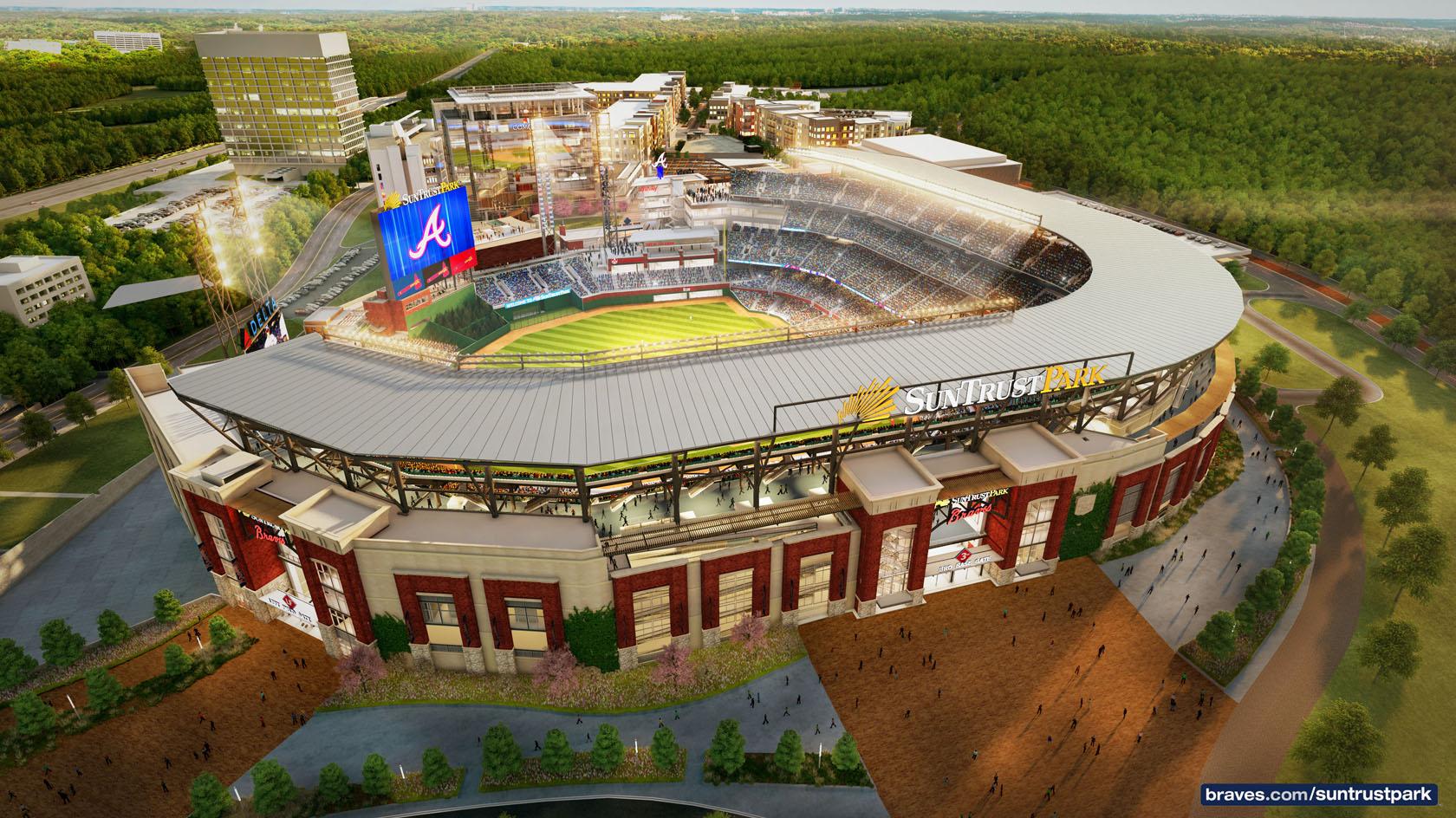"La directiva de los Braves ""pegó un gran grand slam"" con el SunTrust Park"