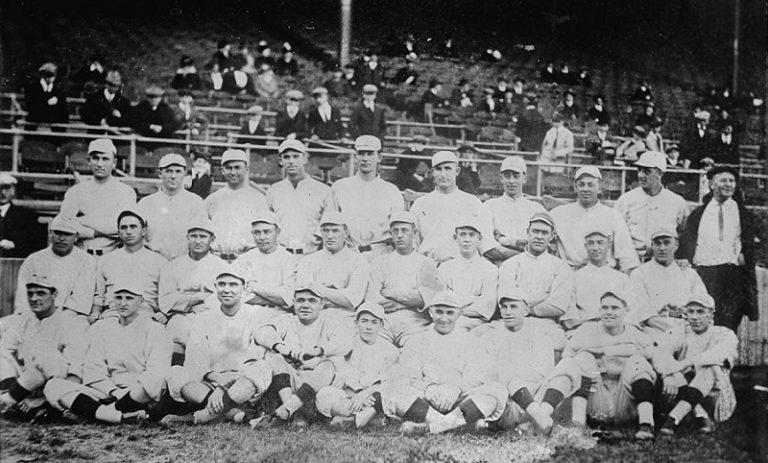 Los Boston Red Sox de 1916, aún con Babe Ruth en sus filas