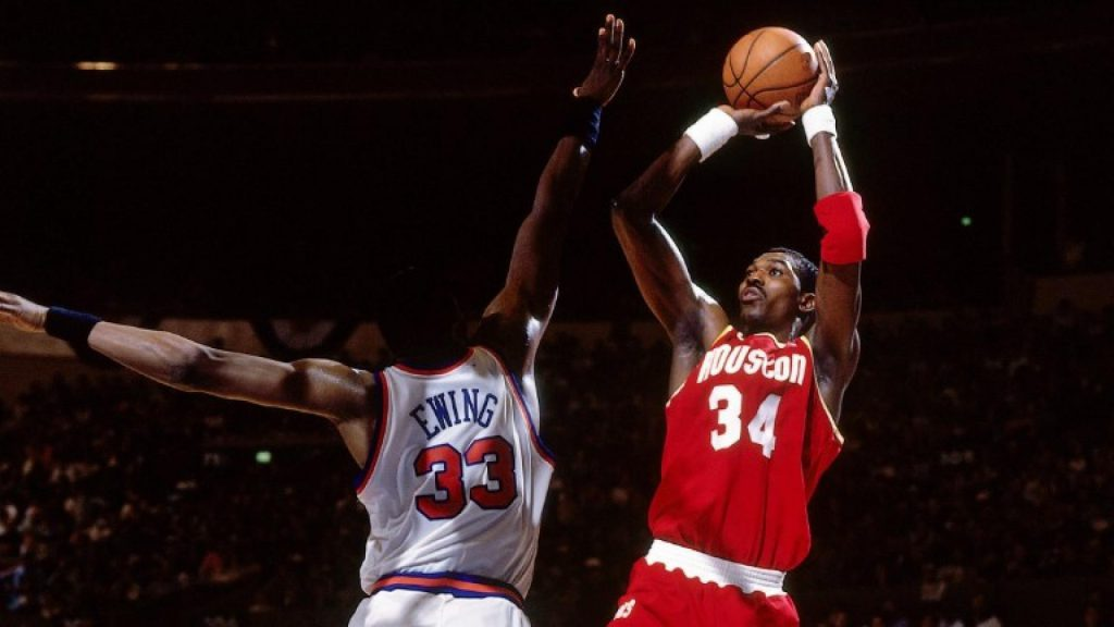 hakeem-olajuwon-houston-rockets-cuadruple-doble